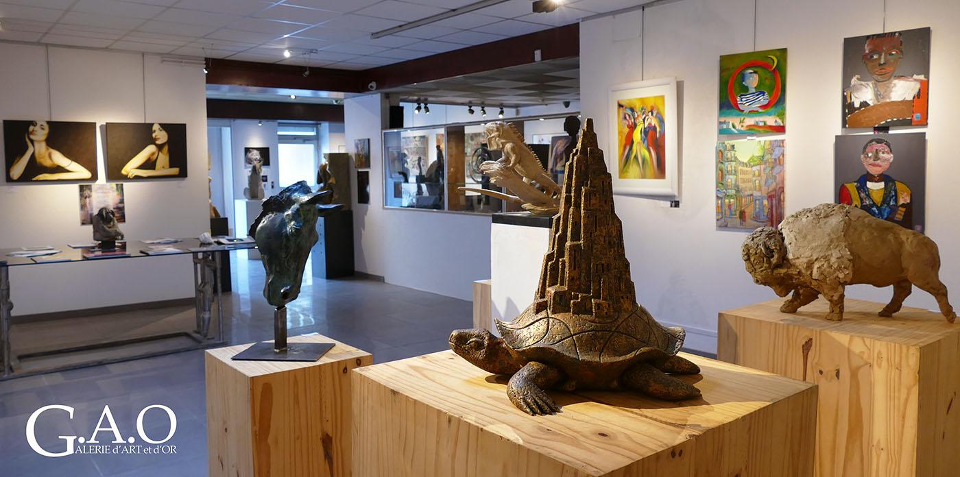 Galerie d'art et d'or retrospective