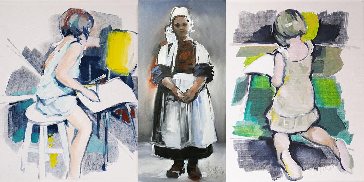 Maryvonne Jeanne-Garrault peintures