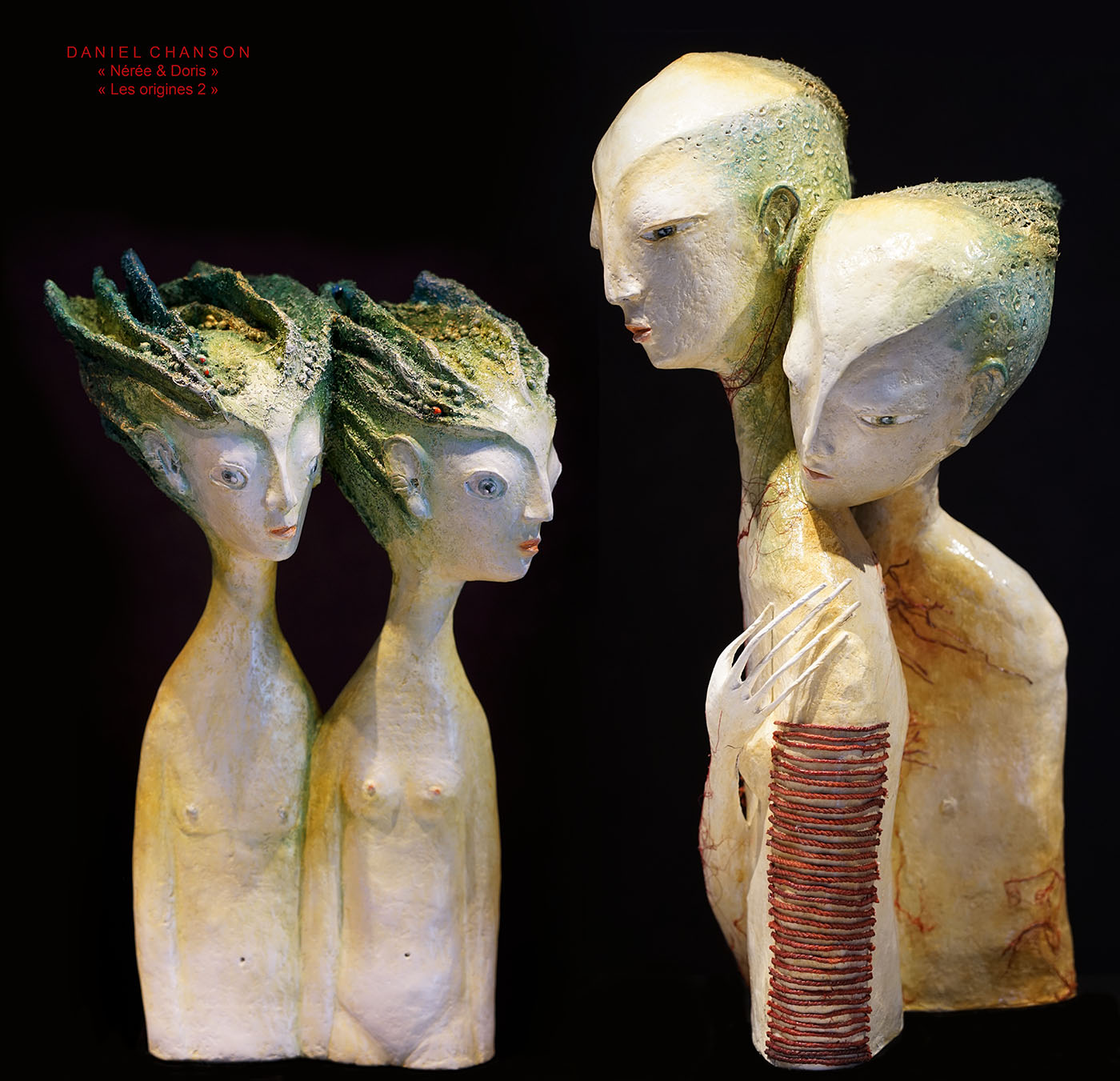 Daniel Chanson - Les origines - Nérée et Doris